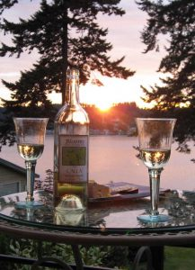 Blooms winery suite vacation rental whidbey island